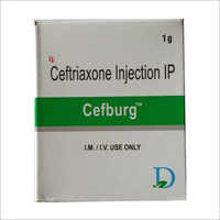 1gm Ceftriaxone Injection IP