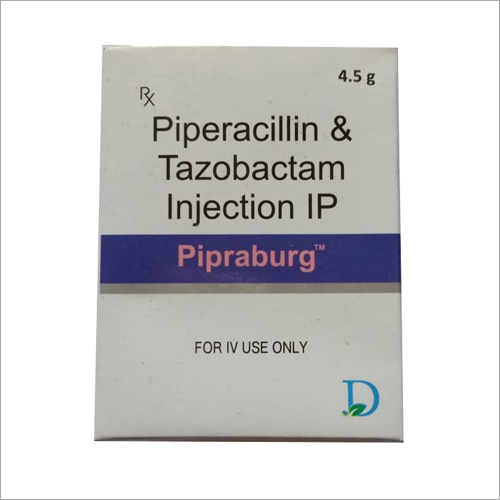 4.5gm Piperacillin and Tazobactom Injection