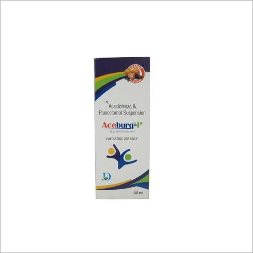 60 ml Orange Flavour Aceclofenac and Paracetamol Syrup