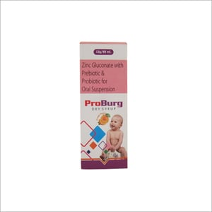 60 Ml Zinc Gluconate With Prebiotic And Probiotic For Oral Syrup