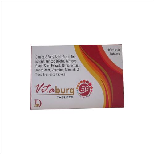 Omega 3 Fatty Acid Green Tea Extract Ginkgo Biloba Gineng Grape Seed Extract Tablets
