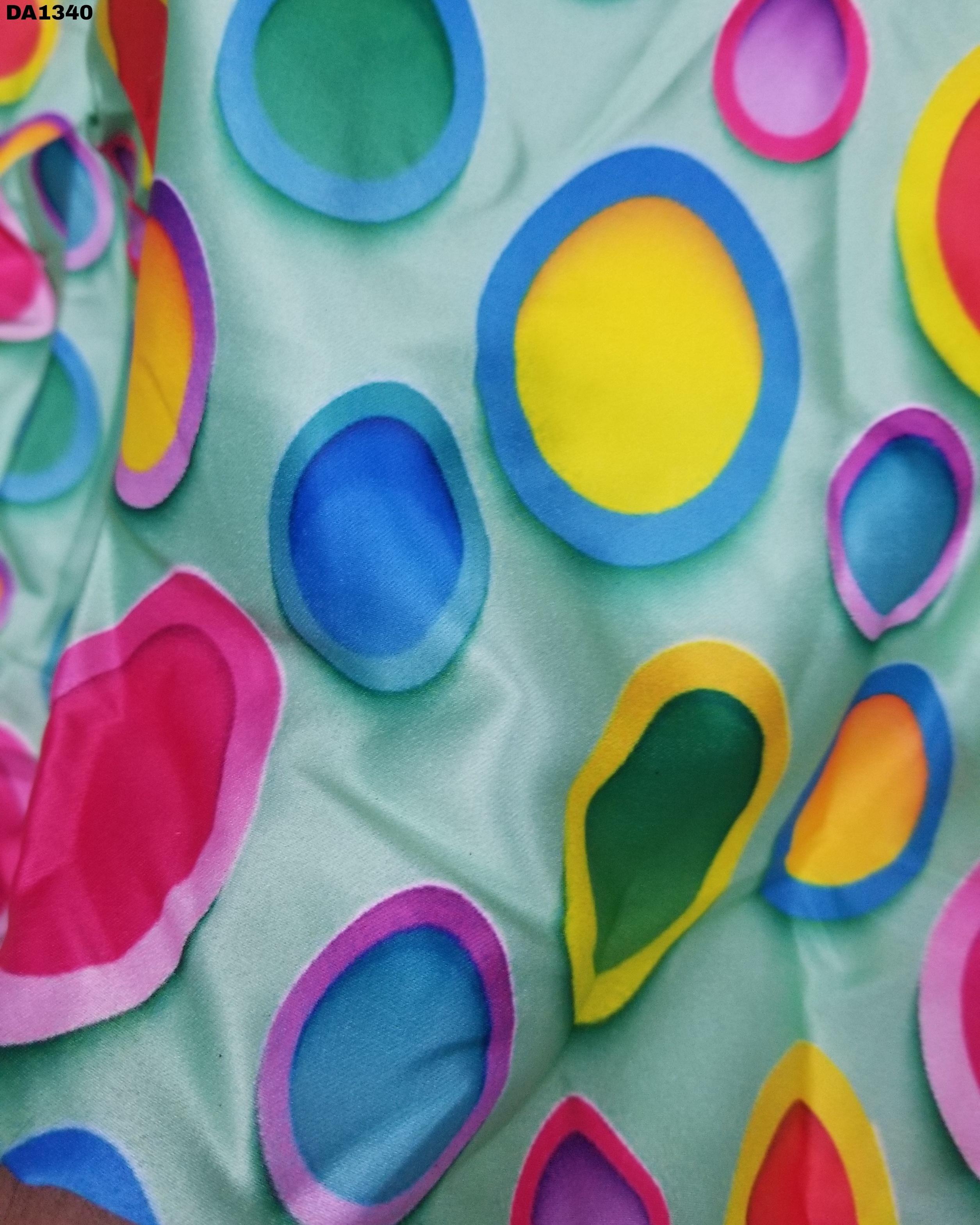 Firozabad Silk Digital Print Fabric