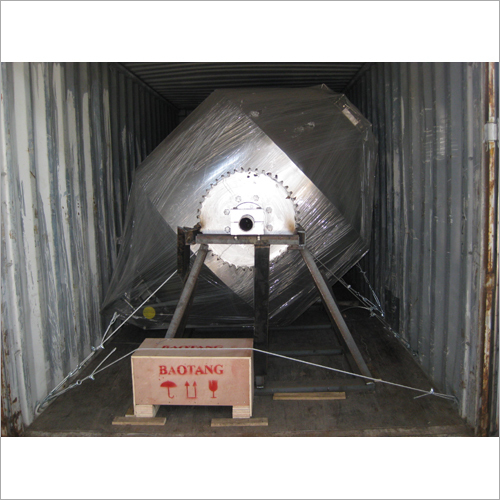 Glass Lined Rotary Vacuum Dryer