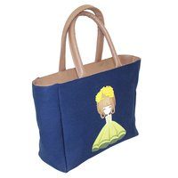Dyed Canvas Handbag