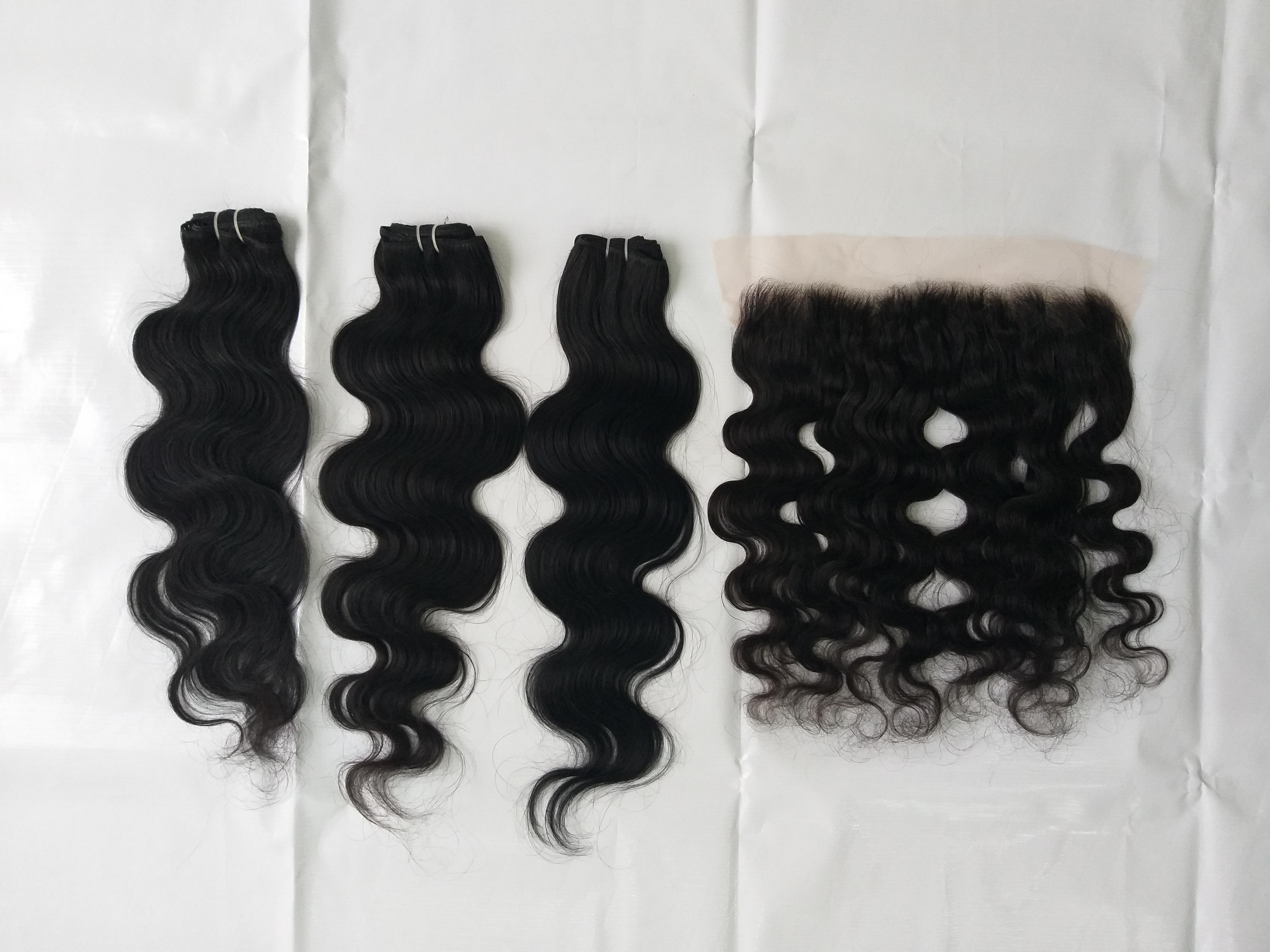 Natural Raw Body Wave Human Hair Extension