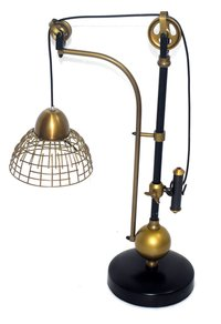 Brass Nautical Table Lamp