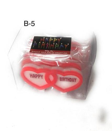 Heart Birthday Candle