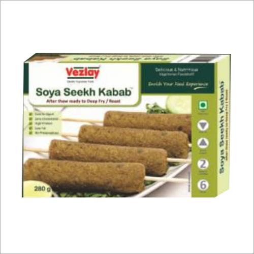 200gm Soya Seekh Kabab