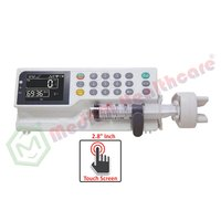 Syringe Pump Touch Screen