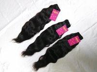 Indian 100% Natural Virgin Remy Wavy Human Hair Bundle With Closure Frontal