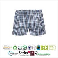 Mens Checked  Boxer Shorts