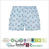 Sustainable Cotton Men's Flat Fronted Shorts