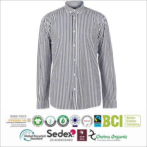 Mens Striped Full Sleeve Shirts