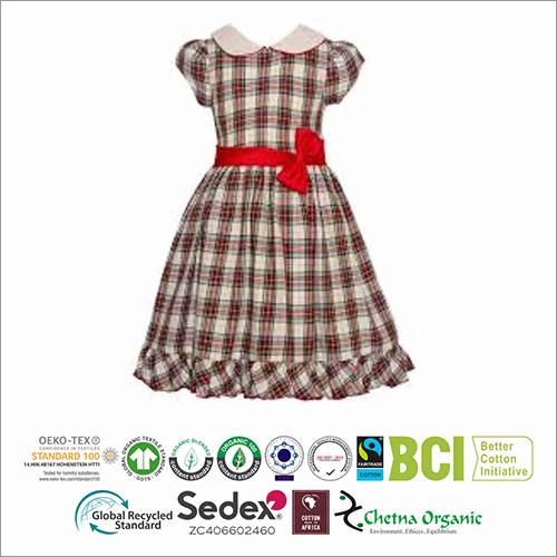 Kids Organic Cotton Frock