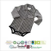 Baby Checkered Romper