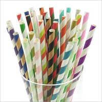 Printed Paper Straw