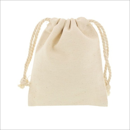 Organic Cotton Pouch Bags