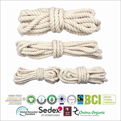 Hand Woven Organic Cotton Rope