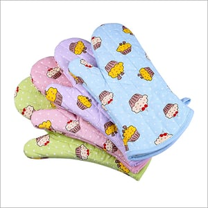 Pair Mitts Oven
