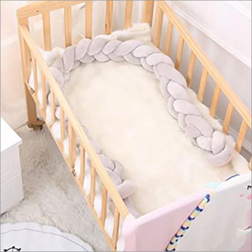 Baby Braided Crib Cot Bumper