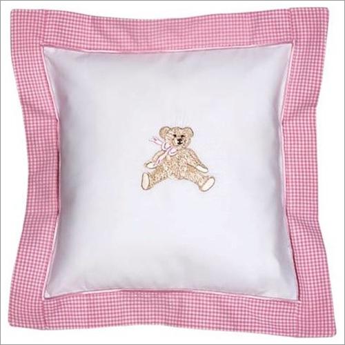 Teddy Bear Print Baby Pillow Case