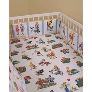 Baby Bed Fitted Sheet