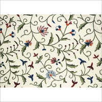 GOTS Certified Organic Cotton Solid Dyed Embroidery Fabric