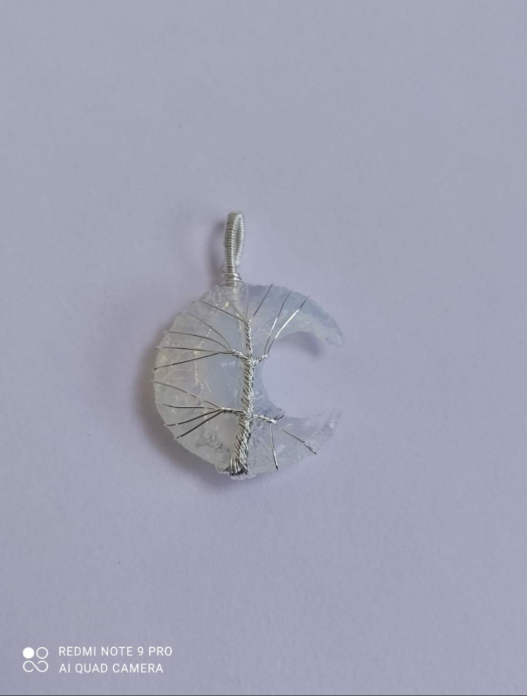 Opalite Crystal Pendant