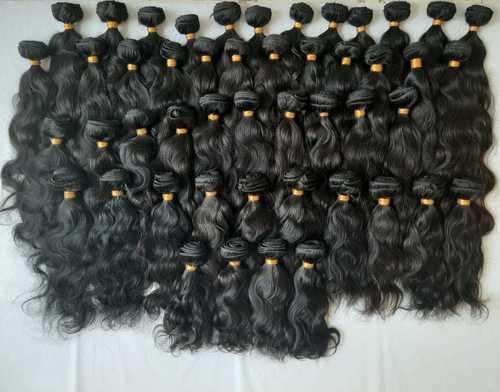 Natural Wavy Unprocessed Human Hair