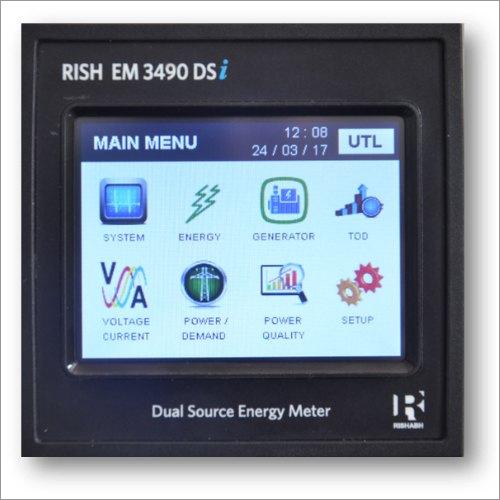 Rish EM 3490 DSI Dual Source Energy Meter