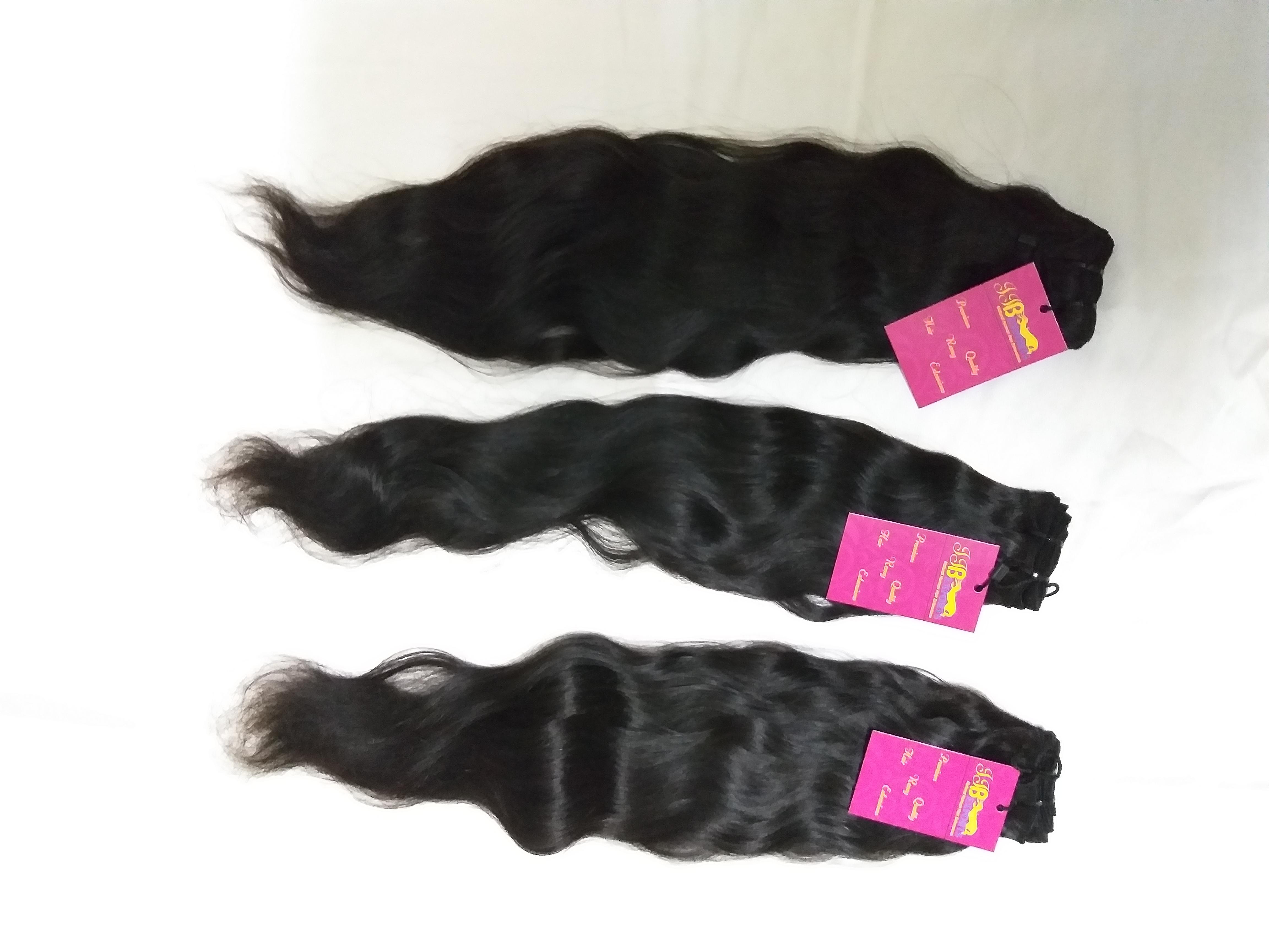 Factory Price Premium Quality Wholesale Indian Raw Cheap Sample Virgin Wavy Hair Bundles