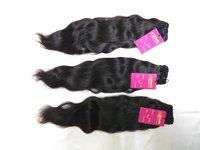 High Quality 100% Natural Color Silky Wavy/straight/curly Human Remy Beazilian Hair Extensions