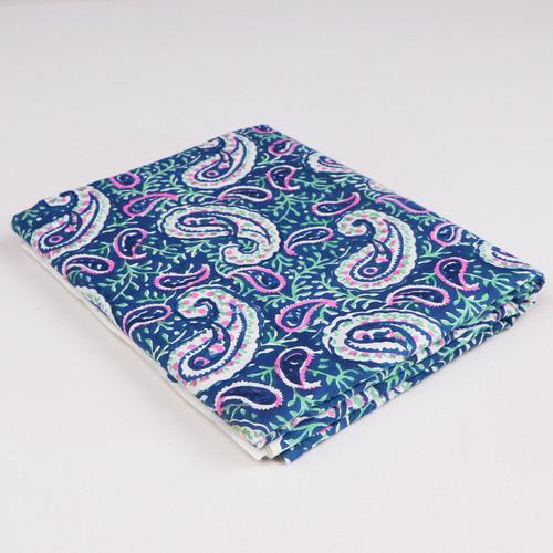 Hand Block Printed Cotton Fabric