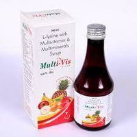 Multivitamin Minerals And Lysine Syrup