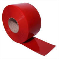 Welding Red PVC Strip Curtain