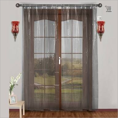 Transparent PVC AC Curtain