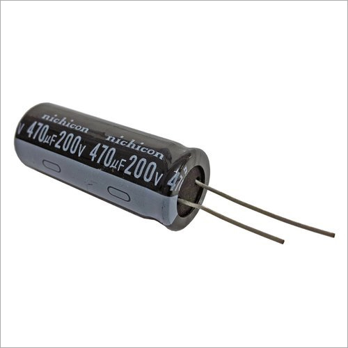 Electrolytic Round Capacitor