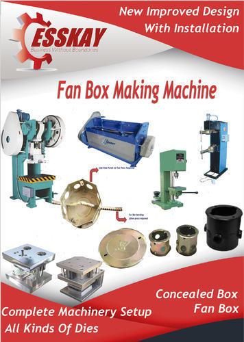 Led Concealed Box Making Machine