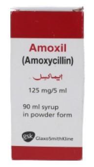 Amoxil 125 Mg 5 Ml 90 Ml Syrup