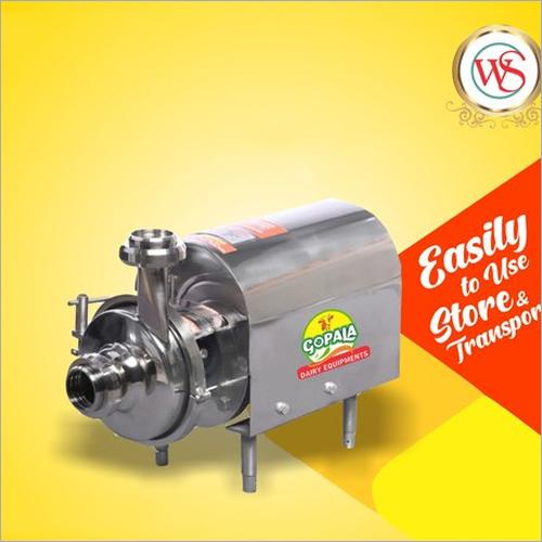 SS Milk Transfer Pumps