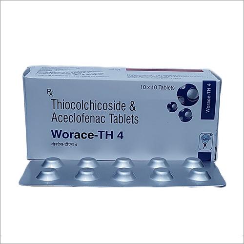 Thiocochicoside And Aceclofenac Tablets