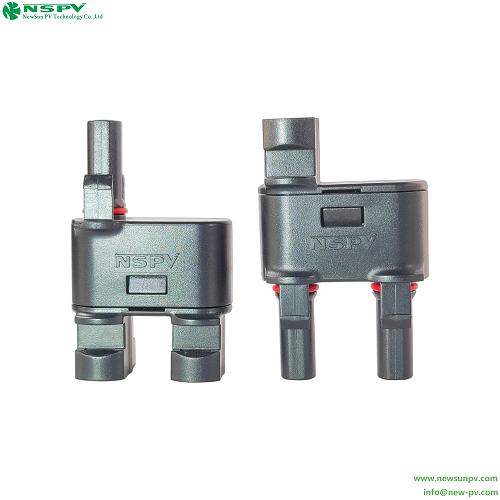 Pv4.0 2in1 T-branch/y-cable Connector With 35a Branch For Protection Solar Grid/off-tied System 1500vdc