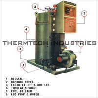 Oil Fired Vertical And Horizontal Thermic Fluid Heater