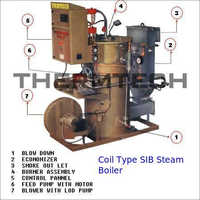 Coil Type SIB Steam Boiler