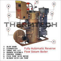 Fully Automatic Reverse Flow Steam Boiler