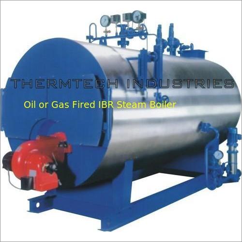 Oil Or Gas Fired IBR Steam Boiler