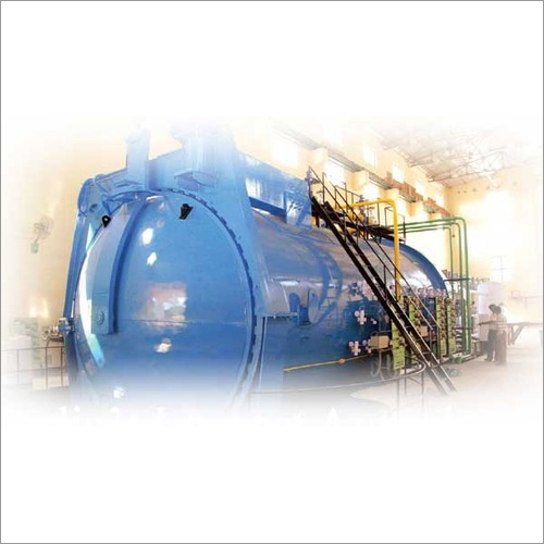 Industrial Steel Autoclave