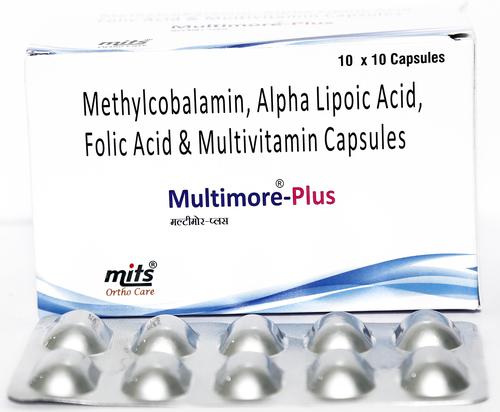 Methycobalamin1500 mcg, Alpha Lipoic Acid, Folic Acid  , Vitamin B1 , Vitamin B6