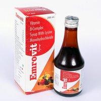 Vitamin B-complex with lysine Monohydrochloride Syrup