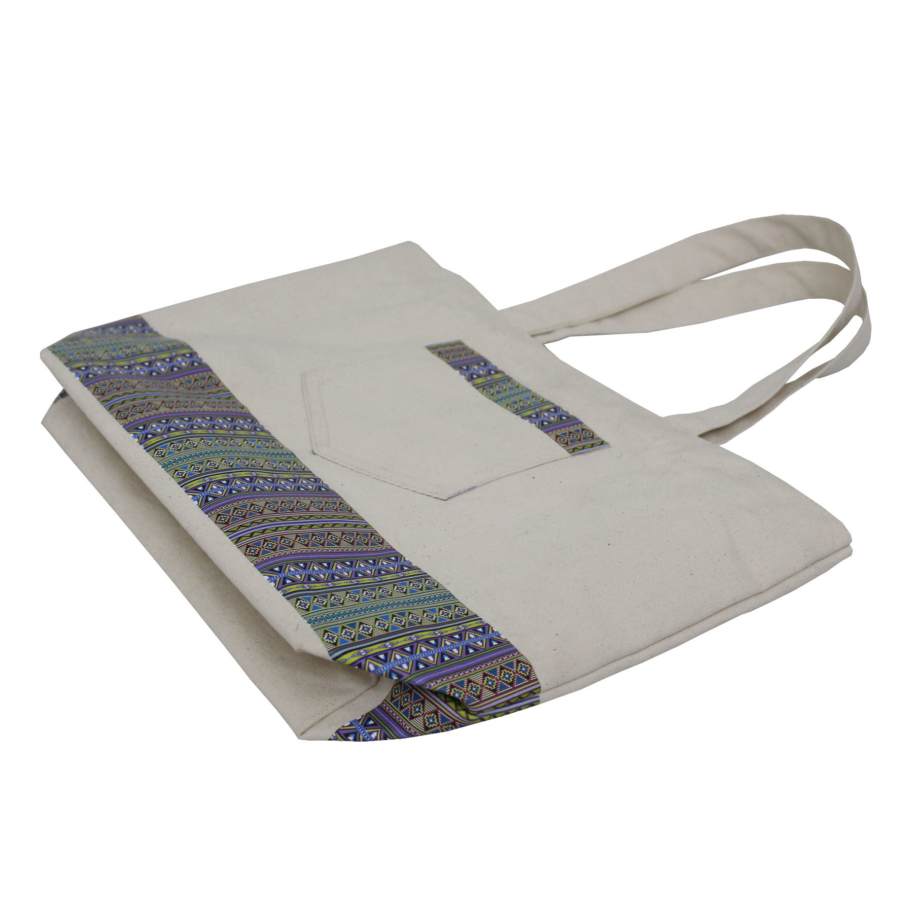 Natural Canvas Hand Bag